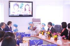Визит делегации школьников из города-побратима Номи (Япония) в Шелеховский район